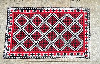 Ralli quilt - A patchwork ralli quilt