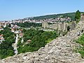 Ramparts of Tsarevets Fortress with City Backdrop - Veliko Tarnovo - Bulgaria - 04 (28350138907).jpg