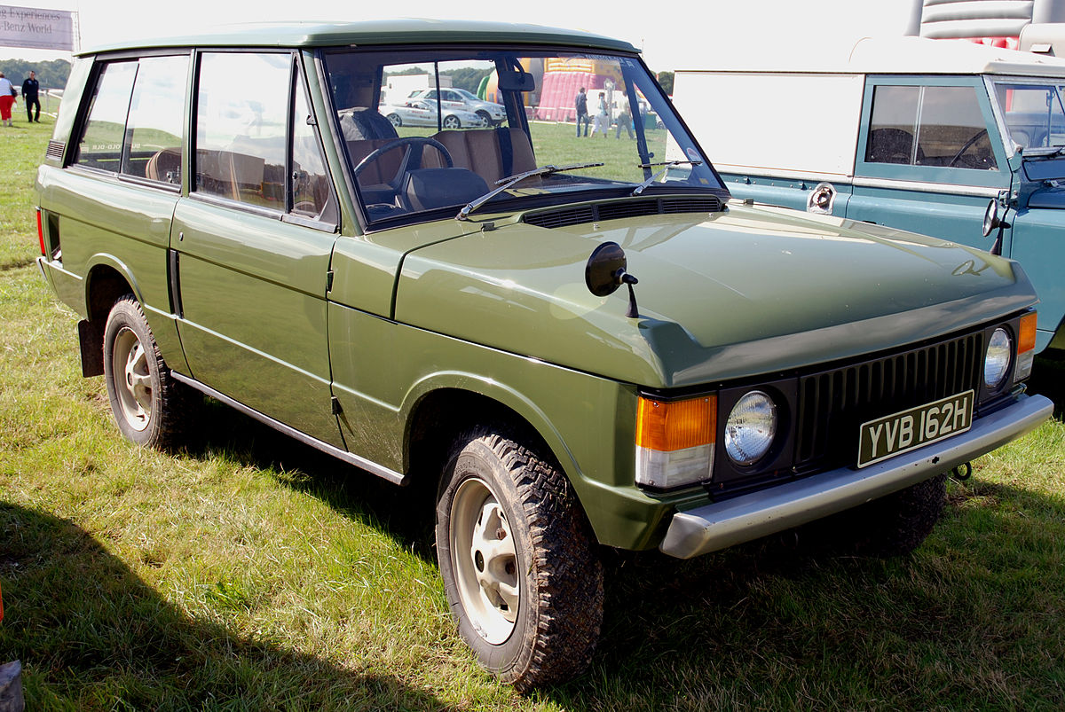 land rover range rover 1st generation wikidata. Black Bedroom Furniture Sets. Home Design Ideas