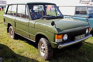 Range Rover Classic - Image: Range Rover (1241369888)