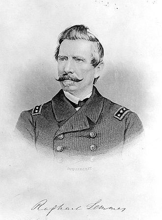 Morocco–United States relations - Portrait of Admiral Raphael Semmes who represented the Confederate States of America to Morocco during the American Civil War though Morocco never formally recognized the Confederate States.