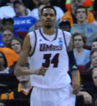 Raphiael Putney - Putney playing for UMass