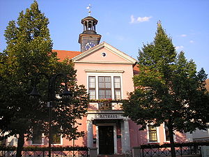 Bad Berka - Bad Berka Town hall