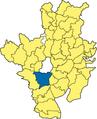 Raubling - Lage im Landkreis.png