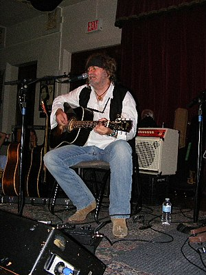 Ray Wylie Hubbard - Hubbard performing in Austin, Texas 2009