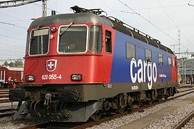 Re 6/6 in SBB Cargo-Farbgebung