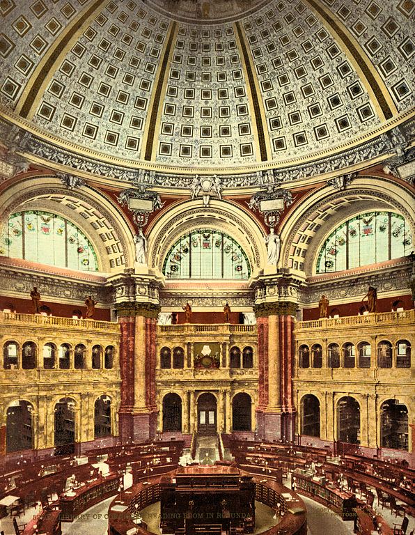 File Reading Room  Library Of Congress  Washington  D C