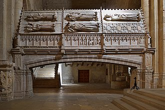 Eleanor of Portugal, Queen of Aragon -  Royal sepulchres at Poblet Monstery