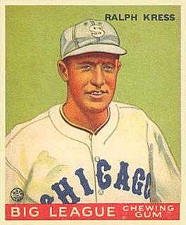 Red Kress American baseball player and coach