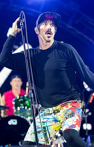 Anthony Kiedis - Kiedis performing in 2016