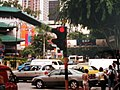 Red traffic light at the junction of Orchard Road, Paterson Road and Scotts Road, Singapore - 20041116.jpg
