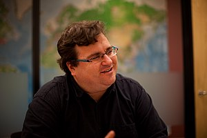 Reid Hoffman - Hoffman speaks at an event.