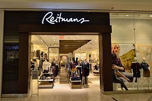 Reitmans - Reitmans in Markville Shopping Centre in Markham, Ontario.