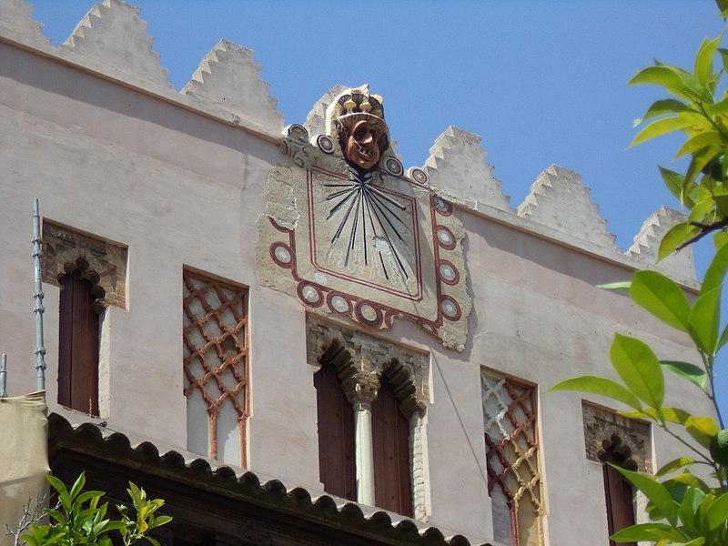 Reloj de Sol en Catedral de Sevilla.JPG