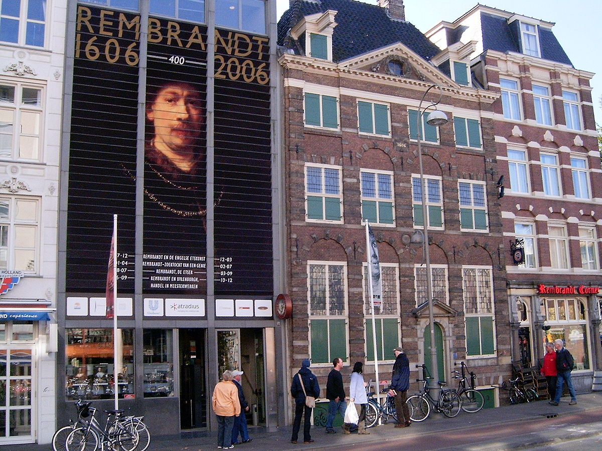 Rembrandt house museum wikipedia for Museum amsterdam