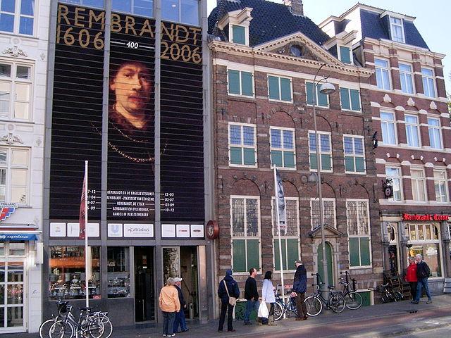 Дом-музей Рембрандта в год 400-летия художника