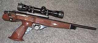 Remington XP-100 bullpup bolt-action pistol