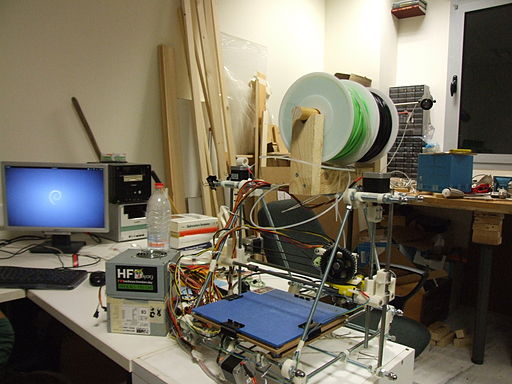 RepRap in hackerspace