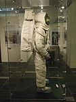 Replica Apollo spacesuit right 2014 Exhibit at Chemical Heritage Foundation DSCF0489.jpg