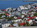 Reykjavík Blick von der Hallgrímskirkja 03.JPG