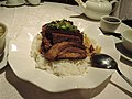 Rice with pork belly in cantonese village style.jpg