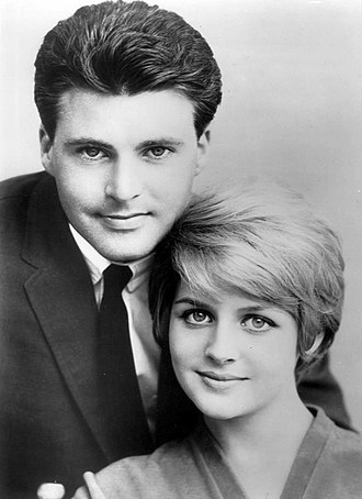 Kristin Nelson - Kris and Rick Nelson in 1964.