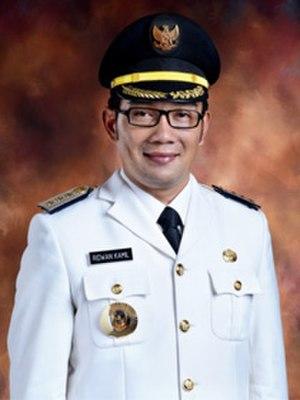 Ridwan Kamil - Image: Ridwan Kamil official