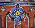 Riga Schwarzhäupterhaus Uhr.JPG