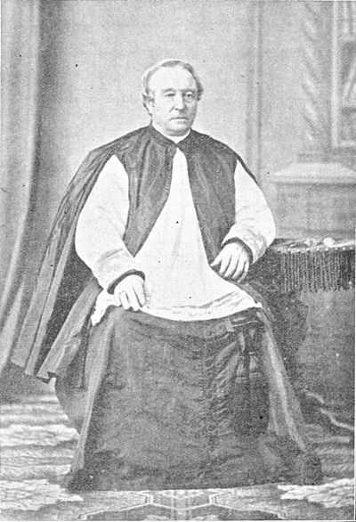 """Right Rev. Monsignor Peter Baines, D.D."""