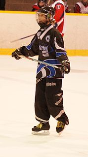Julie Blanchette Canadian professional ringette player