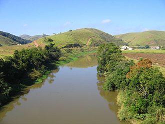 Paraíba do Sul - The Rio Paraíba do Sul near Jacareí, SP
