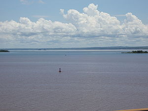 Presidente Epitácio - Paraná River in Presidente Epitácio