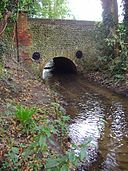River Mun at the crossing in the village of Mundesley (2).JPG