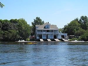 Riverside Boat Club - Image: Riverside Boat Club, Cambridge MA