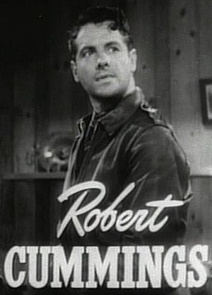 Robert Cummings in Saboteur trailer.jpg