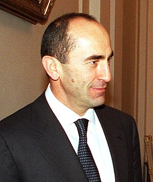 Robert Kocharyan - Image: Robert Kocharyan