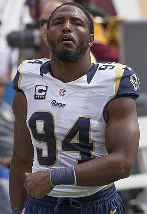 Robert Quinn (American football) - Quinn with the St. Louis Rams in 2015