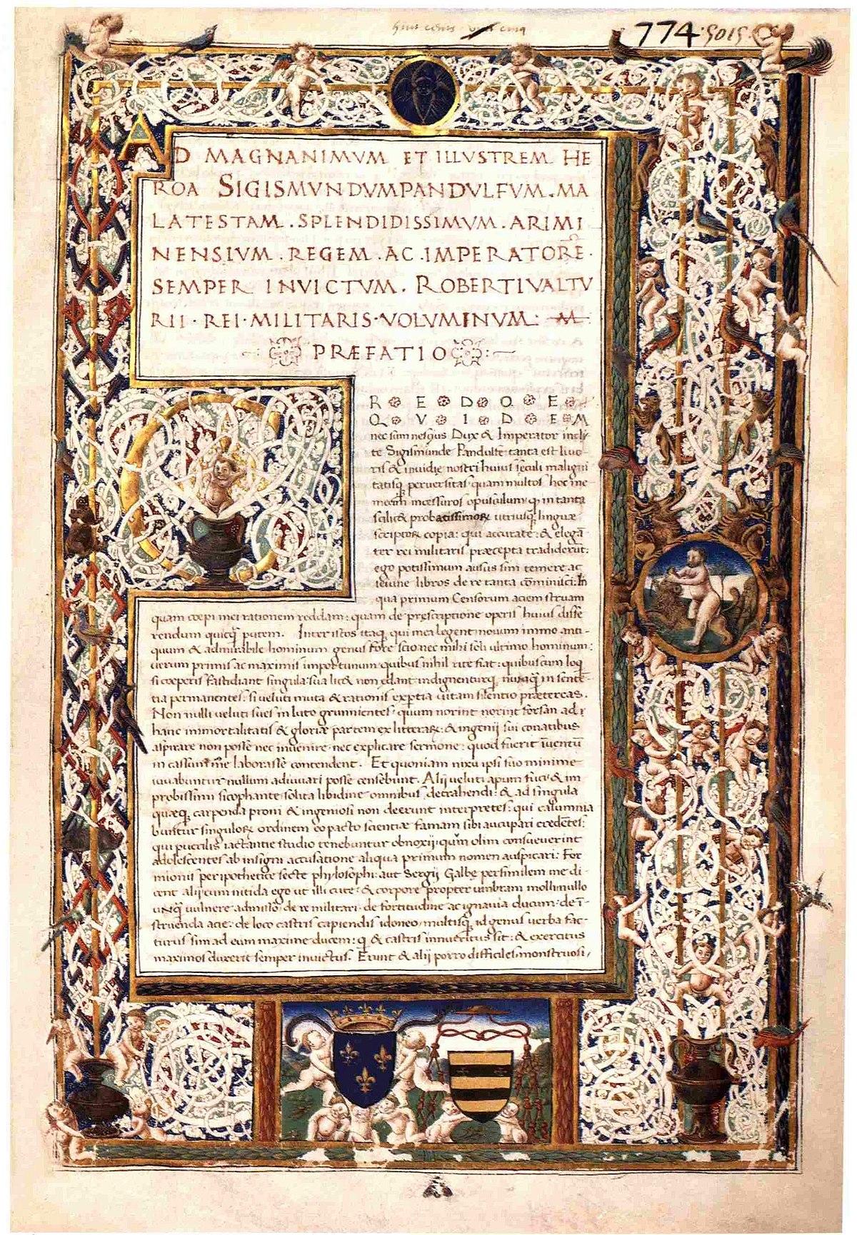 Robertus Valturius – Wikipedia