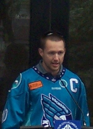 Pat McCready - Image: Rochester Knighthawks 2012 Pat Mc Cready at city ceremony cropped