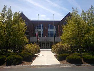 Rockingham County, New Hampshire - Image: Rockingham County Courthouse, Brentwood NH
