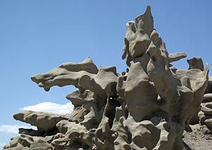 Fantasy Canyon - Rocks in Fantasy Canyon
