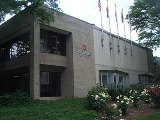 Rockville, Maryland - Rockville City Hall, 2010