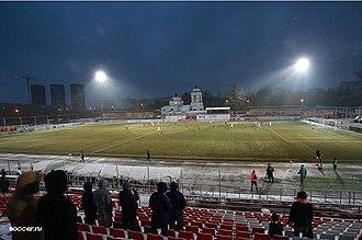 Rodina Stadium (Khimki) - Image: Rodina Stadium 2016