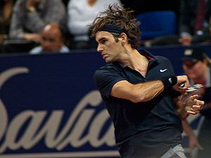 Swiss Indoors - Roger Federer at the 2007 Swiss Indoors