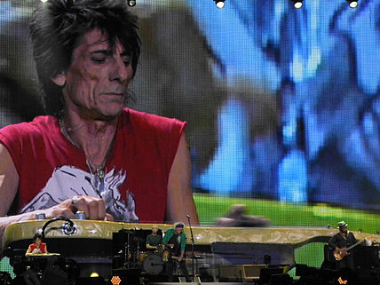 Ron Wood ad Hyde Park, 2013