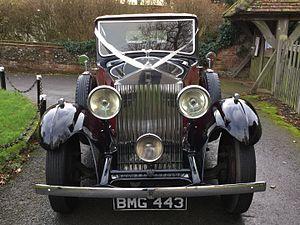 Rolls-Royce 20/25 - BMG443, Rolls Royce 20/25