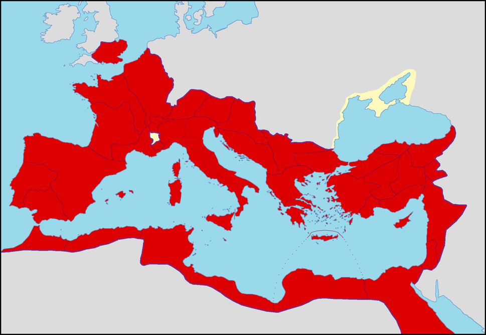Roman Empire in 54 AD