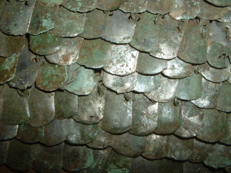 File:Roman scale armour detail.JPG