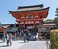 Romon, Fushimi Inari-taisha, Kyoto, West view 20190416 1.jpg