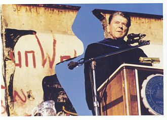 Westminster College (Missouri) - Image: Ronald Reagan lecture at Westminster College, Fulton MO